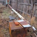Длинная труба для коптильни холодного копчения
