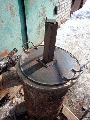 Простая и эффективная печь длительного горения