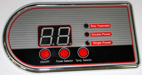 Сенсорная панель управления водонагревателя Термекс