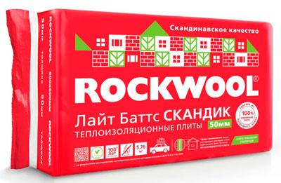 Утеплитель Rockwool для дымохода