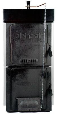 котёл на твёрдом топливе Alpine air