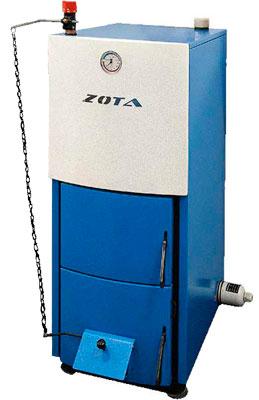 ZOTA Mix40 кВт на твёрдом топливе