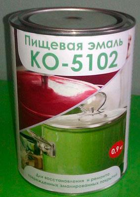 Пищевая эмаль КО-5112