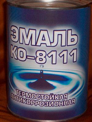 Термостойкая эмаль КО-8111