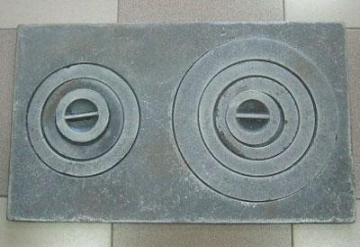 Варочная плита со съёмными кольцами