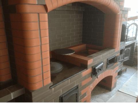 Как сделать казан-мангал с барбекю и коптильней