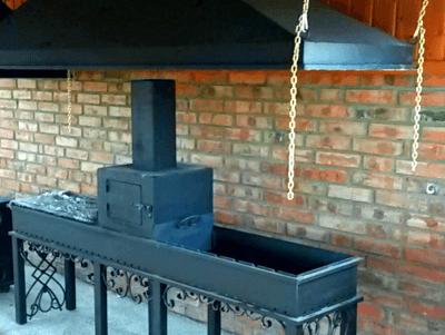 Как правильно изготовить дымоход и вытяжку для мангала в беседке