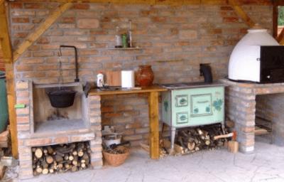 Печь для шашлыков на даче
