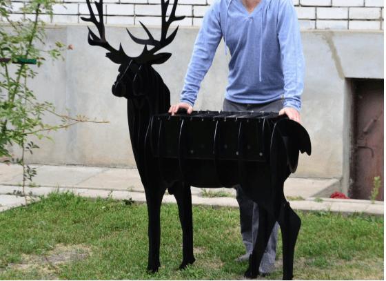 Делаем мангалы в виде животных