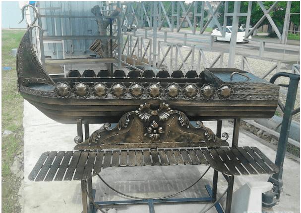 Как сделать мангал-корабль?