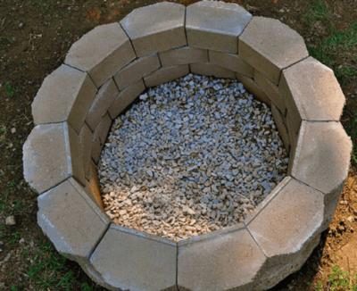 Как сделать мангал из камня?