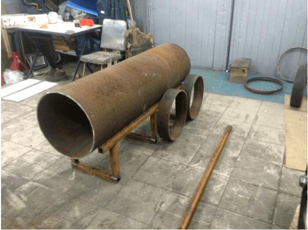 Как сделать мангал-паровоз?