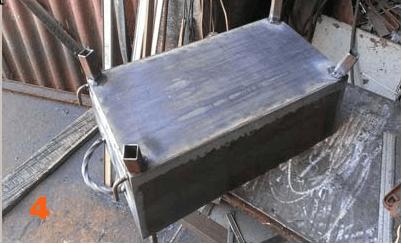 Обзор чертежей мангалов из металла своими руками
