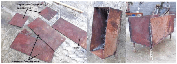 Виды и сфера применения мини-мангалов